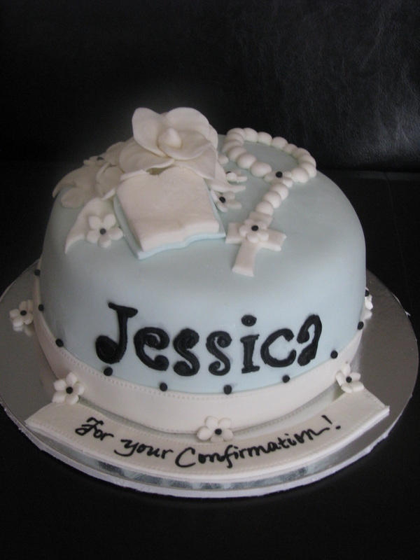First Communion Amp Confirmation Cakes